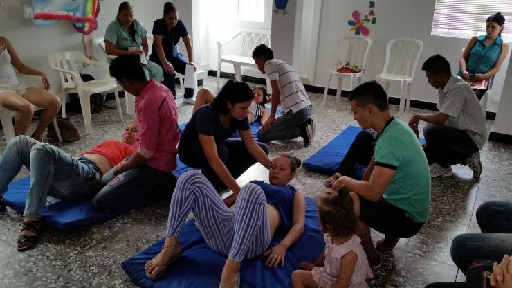 Continúan cursos psicoprofilácticos en el Centro de Salud Las Granjas