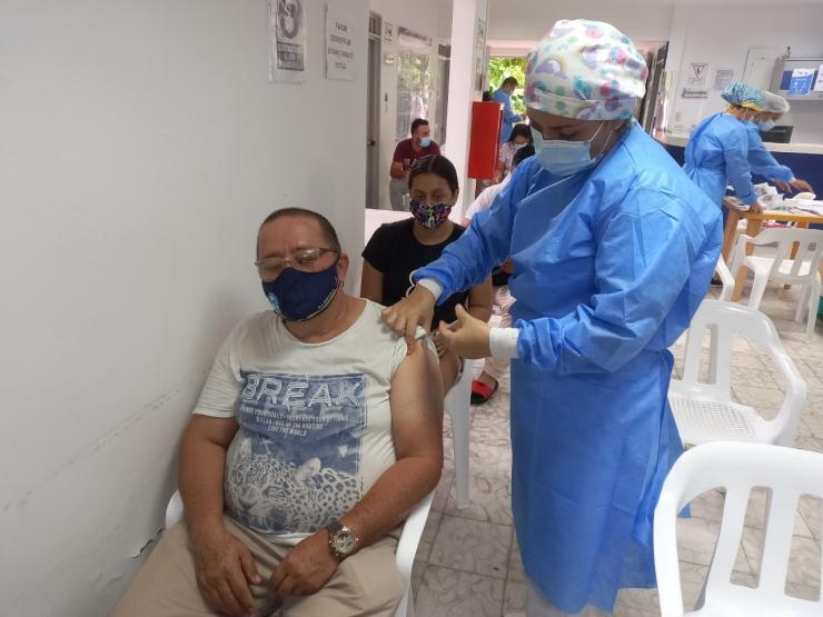 En octubre Neivallagará al 92% de la población vacunada con primera dosis