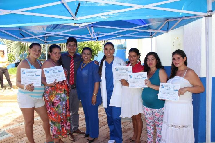 Graduación de 25 maternas del curso Psicoprofiláctico del IPC