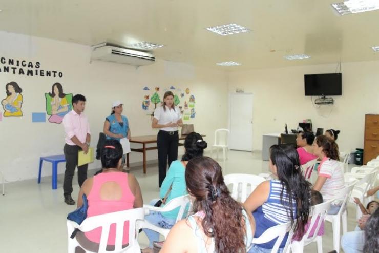 Usuarias de la E.S.E Carmen Emilia Ospina recibirán curso de belleza certificado
