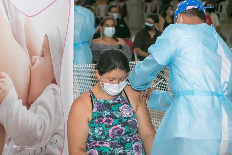 285 mujeres en estado de gestación se han vacunado contra el COVID-19 en la ESE de Neiva
