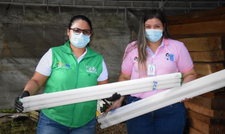 Donamos 498 kg de residuos posconsumo a la campaña Opitatón 2021